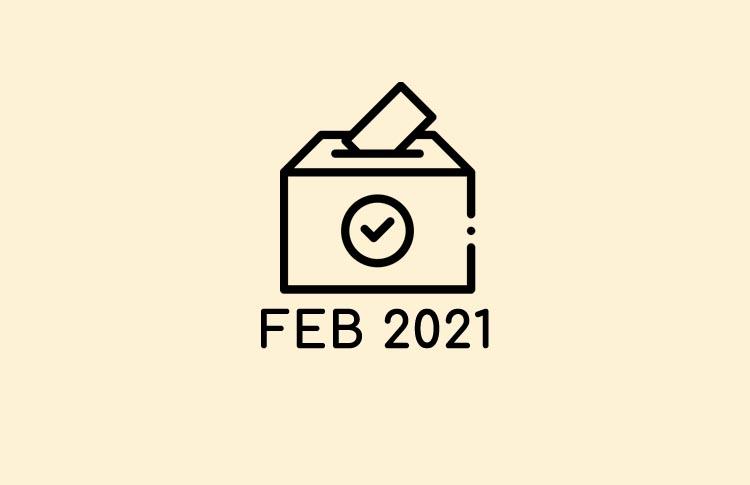 Votaciones Febrero 2021