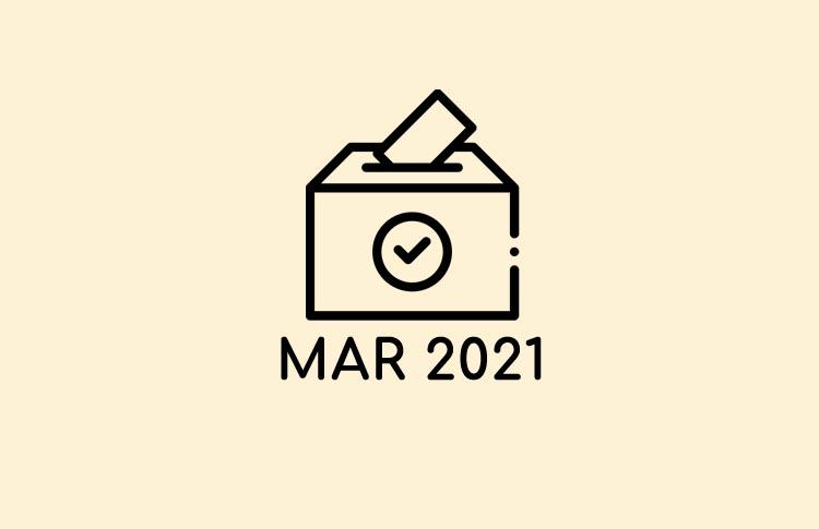 Votaciones Marzo 2021