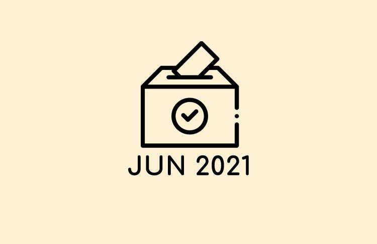 Votaciones Junio y Julio 2021